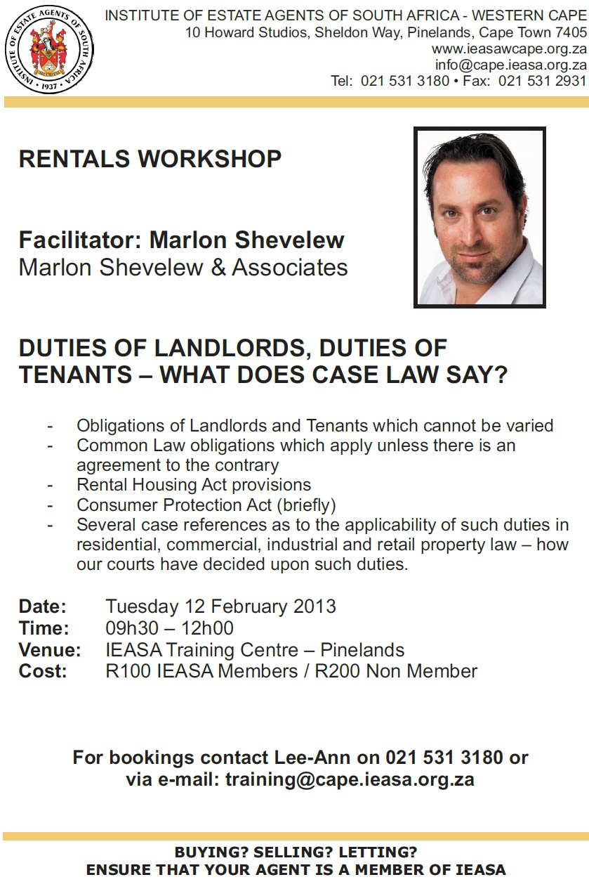 IEASA - Institute of Estate Agents of South Africa